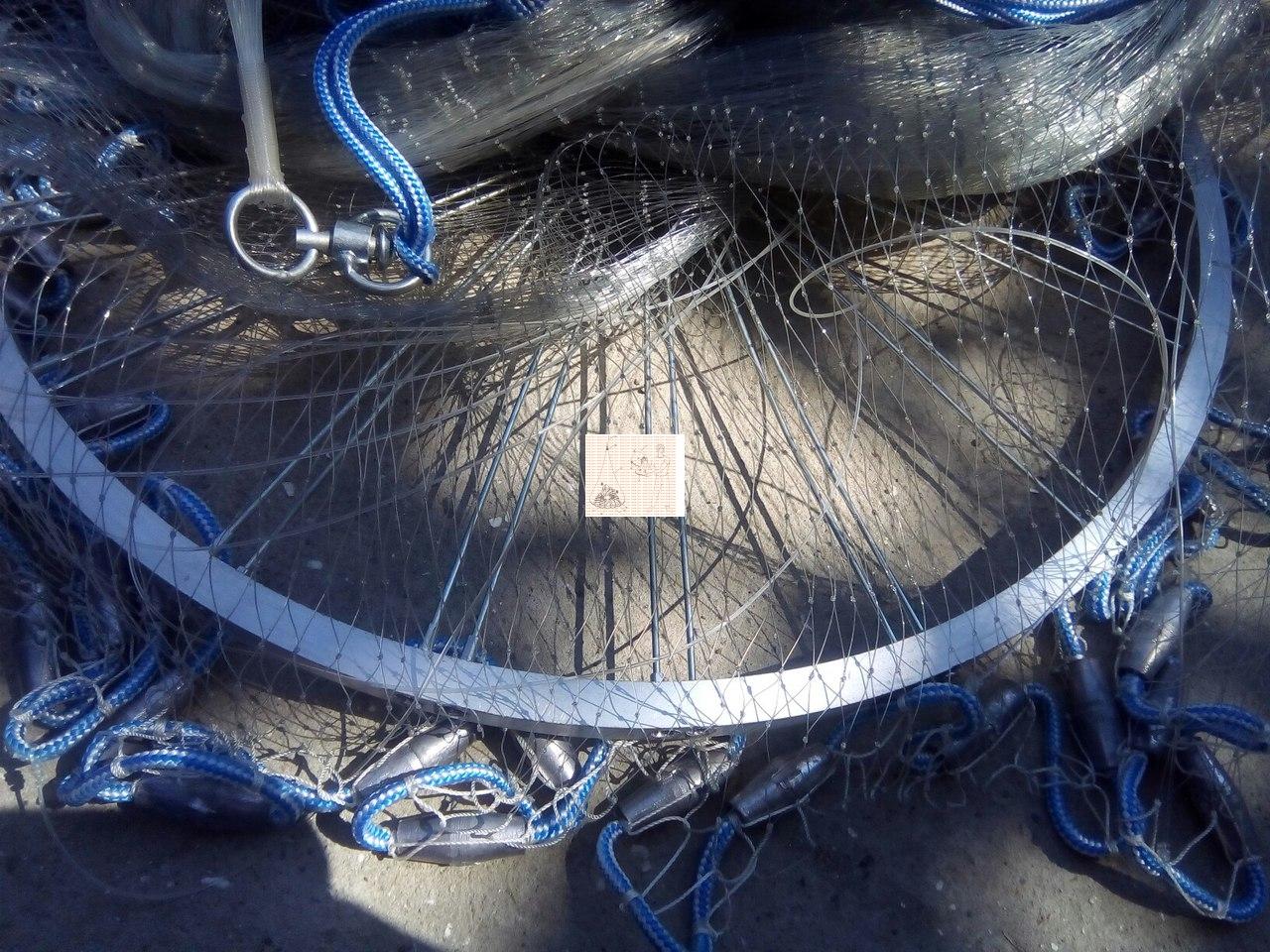 заброс кастинговой сети без кольца