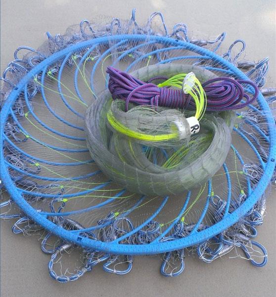 Как сделать кольцо для кастинговой сети своими руками